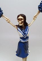 Still Cheering Skeleton Figurine - $16.82