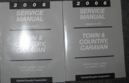 2006 Dodge Caravan Mini & Chrysler Town & Country Service Shop Manual Set Oem 2V - $315.81