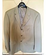Men's Alfani (Macys Mens Store)100% Wool Tan/Khaki Three Button Sportcoa... - $28.05