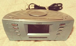 Timex Dual Alarm Clock Radio T439S Multi Directional Sound Chamber MP3 A... - $8.00