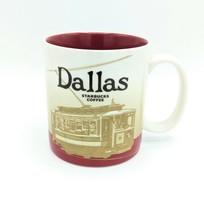 Starbucks 2009 DALLAS TEXAS City Large 16 oz Coffee Mug Collector Pristine EXC - $19.34