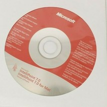 Microsoft IntelliPoint 7.0 Mouse Software CD 2009 Windows Mac Computer S... - $8.59