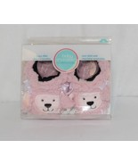 Baby Snoozies 1300Pood Pink Poodle Cozy Little Sherpa Booties Size 3 to ... - £10.30 GBP