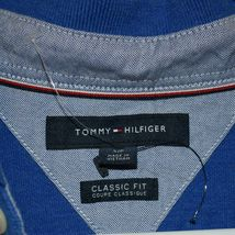 Tommy Hilfiger Men's Classic Fit Blue Collared Polo Shirt Size S image 4