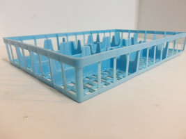 Vintage 12 Car Blue Plastic Storage Repl Tray Insert Matchbox Hot Wheels... - $14.80