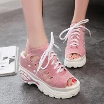 Gladiator Shoes Hollow Rome wedges 2017 Fashion Summer Sandals Sand Women Casual aq7xzZxO