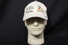 DISNEY PARKS Authentic 100% Cotton Adult Size MICKEY MOUSE Baseball Cap-B96 - $25.00