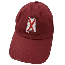 Alabama State Burgundy Adjustable Adult Ball Cap Hat - $12.86