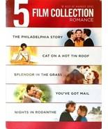 NEW 5 DVD Philadelphia Story / Splendor in the Grass / Cat on a Hot Tin ... - $11.69