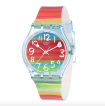 Swatch Color the Sky Watch in Case with Gift Box - New! - $41.00