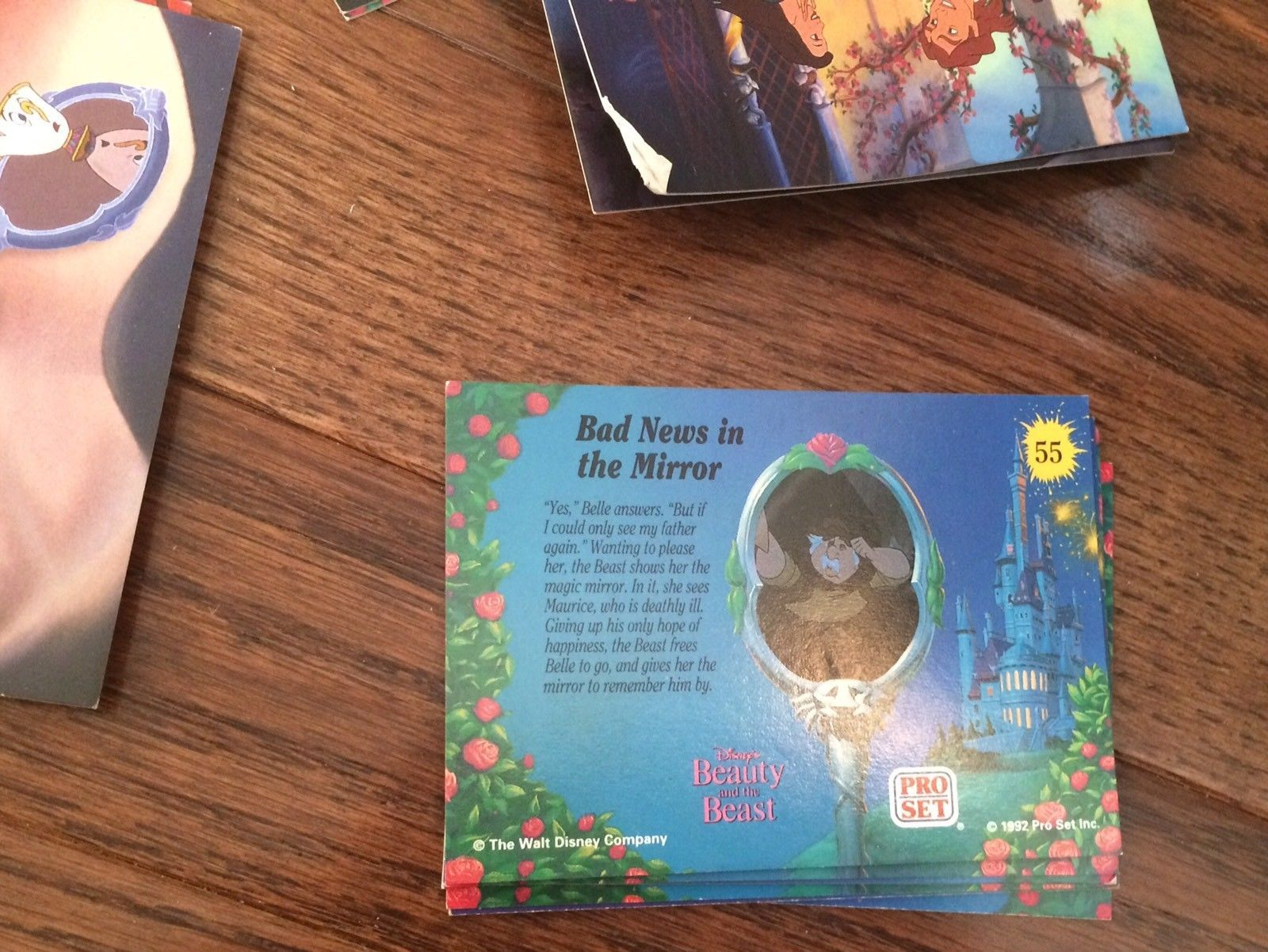 Vintage 1992 Walt Disney Beauty And The Beast Pro Set Trading Cards