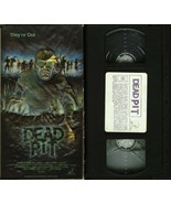 DEAD PIT VHS CHERYL LAWSON JEREMY SLATE IMPERIAL VIDEO 3D COVER TESTED - $39.95