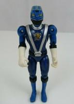 2008 BANDAI Power Rangers RPM Blue Ranger Action Figure 5.5 - $2.99