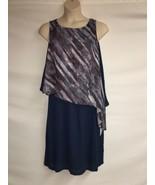 MYNT 1792 Dress Plus Size 18W Womens Diagonal Print NWT $218 - $145.13