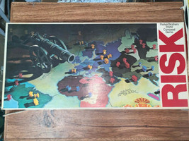 Vintage Risk Parker Brothers World Conquest 1975, 1980 Board Game - $22.72