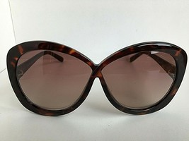 New Tom Ford  63mm Tortoise Oversized Sunglasses Italy - $149.99