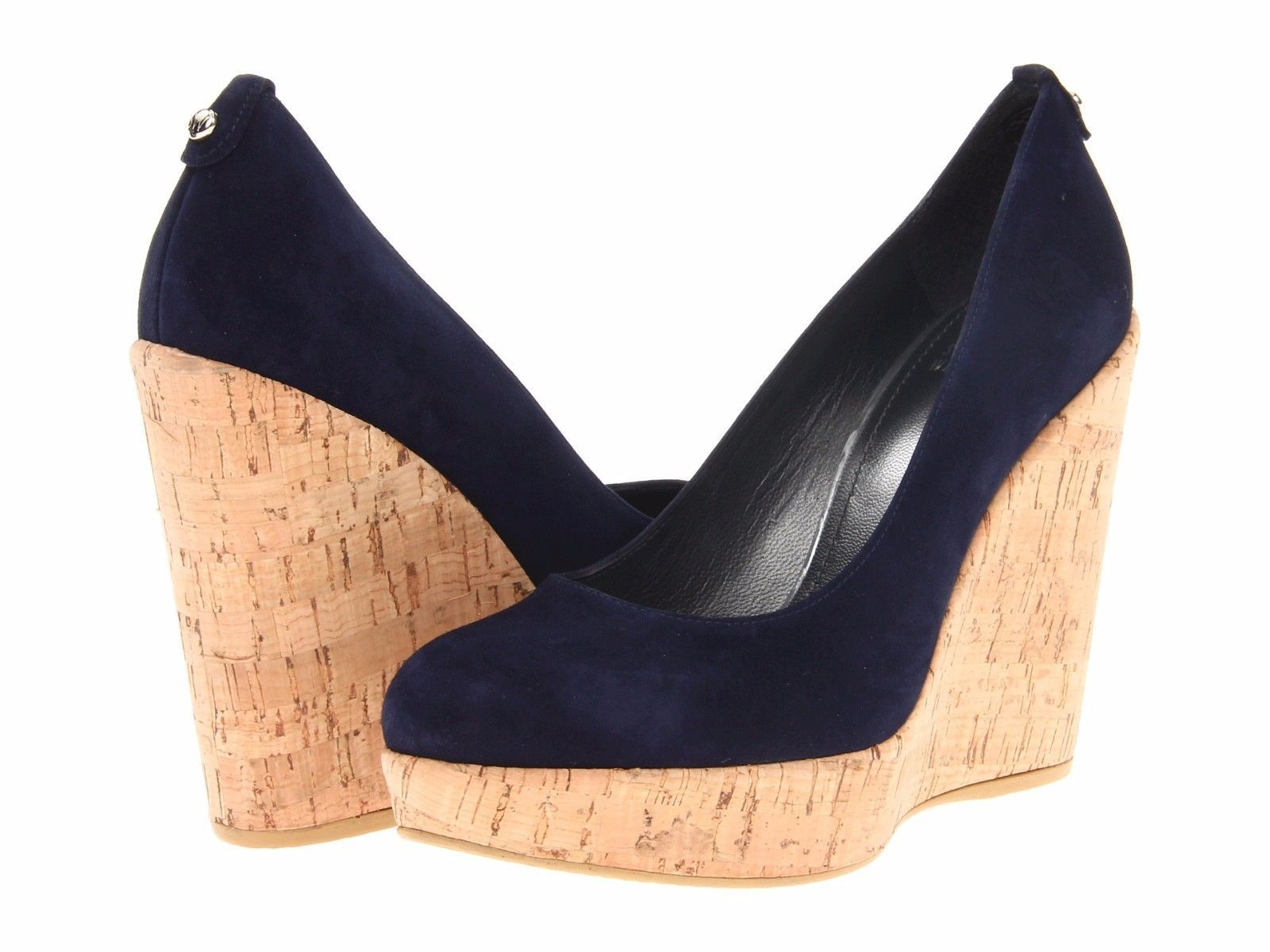 d8f7d33af1fd Stuart Weitzman Corkswoon Wedge - Nice Blue and 50 similar items