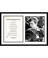 Ultra Cool - Bob Dylan - Music Legend - Authentic Hand Signed Autograph - $199.99