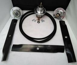 """Deck Spindle Blade Belt Kit Set 52"""" Husqvarna MZ52 539112170 539112079 5... - $147.95"""