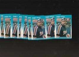 1987 Fleer Reggie Jackson #84 Angels lot of 11 - $1.67