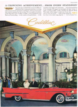 Vintage 1958 Magazine Ad Cadillac A Crowning Achievement From Every Standpoint - $5.93