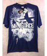 MVP Sportswear AIR FORCE Blue Short Sleeve Tee Shirt New Size Large Gift - $16.83