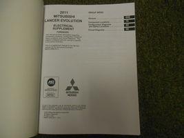 2011 MITSUBISHI Lancer Evolution Electrical Supplement Service Repair Manual NEW image 3