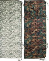 "Digital Camouflage Zipper Poncho Liner Military Blanket Army Woobie 62"" ... - $41.99"