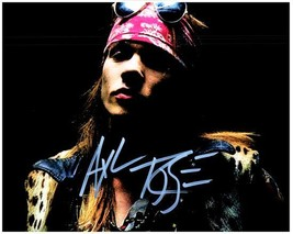 AXL ROSE  Authentic Autographed Signed  Photo w/COA - 27157 - $105.00