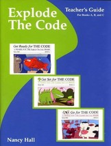 Explode The Code : Teachers Guide for Books, A,B,C [Paperback] Nancy Hall - $5.94