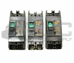 Lot Of 3 Fuji SA32B 5AMP Circuit Breaker 2POLE 550V - $45.00
