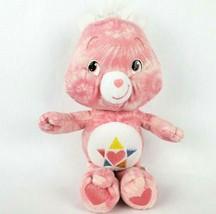 "Care Bears True Heart Bear 11"" Plush Pink Heart Star Tummy Stuffed Anima... - $18.13"