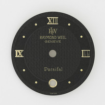 Raymond Weil Geneve Parsifal 19 mm Black Roman Numerals Watch Dial - $49.99