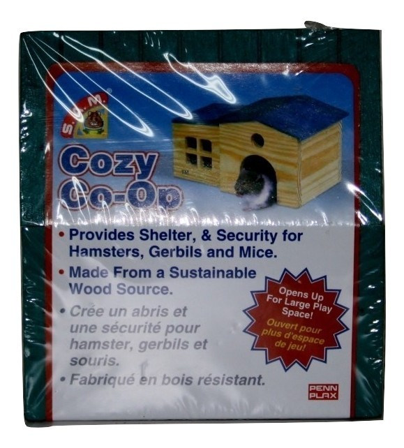 S.A.M. Cozy Co-op Security for HAMSTERS, GERBILS AND MICE SAM157