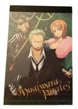 "One Piece Anime ""Mugiwara Pirates"" 40 Page Mini-Notepad * FUNimation (C) - $4.88"