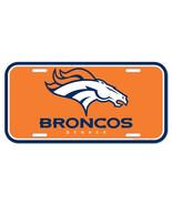 Denver Broncos License Plate**Free Shipping** - $14.20
