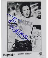 "Johnny Rotten Signed Autographed ""The Sex Pistols"" Glossy 8x10 Photo - C... - $79.99"
