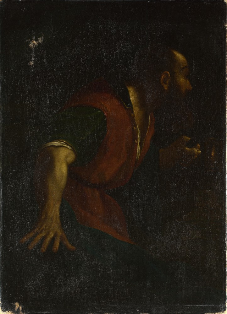 After 20guercino 20 2d 20a 20bearded 20man 20holding 20a 20lamp