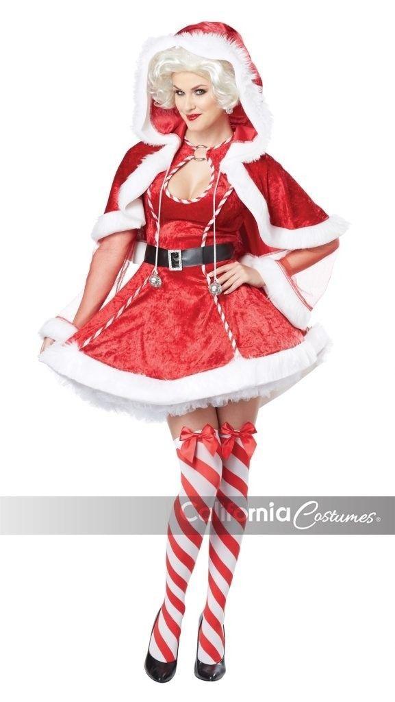California Kostüme Sexy Mrs. Claus Erwachsene Damen Weihnachten Kostüm 01558