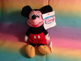 "Disney Store Mickey Mouse Mini Bean Bag Plush 8"" - Damaged Tag - $5.20"