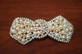 Prom.Pearl and Rhinestone Hair Clip, Women's Hair Accessories - €13,42 EUR