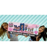 Lol Surprise Amazing Surprise With 14 Dolls Exclusives And More Of 55 Go... - $488.97