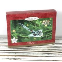 GUNGAN SUBMARINE Star Wars Episode 1 / 2000 Hallmark Keepsake Ornament L... - £17.38 GBP