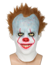 Pennywise Latex Mask Funk-Metal Skate-Punk Style Band Halloween Cosplay ... - $39.48 CAD