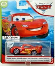 DISNEY PIXAR CARS WGP.GPM LIGHTNING McQUEEN WITH RACING WHEELS - $8.01