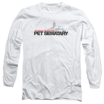 Stephen Kings Pet Sematary Retro 80's Horror long sleeve graphic t-shirt PAR293 image 1