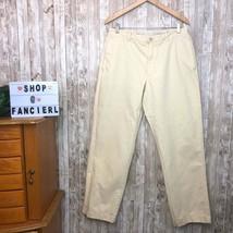 J.Crew | Sz 33x32 Yellow Broken In Regular Fit Chino Pants - $21.84