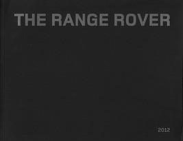 2012 Land Rover RANGE ROVER sales brochure catalog US 12 Autobiography - $12.00