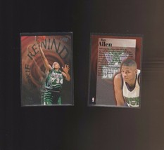 1997-98 Fleer Rookie Rewind #2 Ray Allen Milwaukee Bucks - $1.00