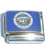 Minnesota State Flag Italian Charm - $1.97